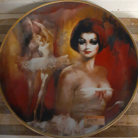 None Other - 1978 Limited Edition Julian Ritter Plate